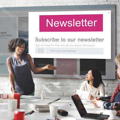 join us newsletter