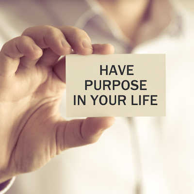 have purpose in life